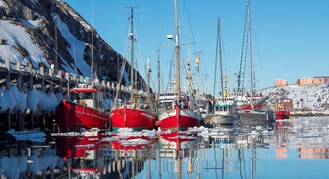 A pesca é a maior indústria da Groenlândia
