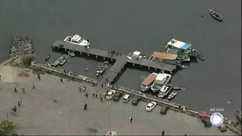 Barcos afundam e deixam quatro mortos e um desaparecido no RJ (Avener Prado/Folhapress - 2.1.2017)