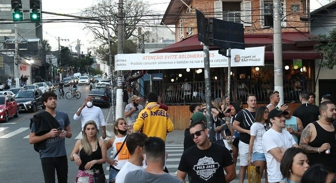 Movimentação em bares: SP tem pior semana desde início da pandemia