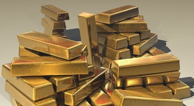 Os contratos futuros de ouro fecharam no nível mais alto desde setembro de 2011