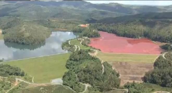 Barragem na cidade de Barão de Cocais já está em alerta desde sexta-feira (22)