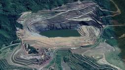 Risco de rompimento de barragem em Minas Gerais mobiliza força-tarefa (Reprodução / Google - Street View)