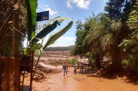 Barragem teria inundado córrego próximo