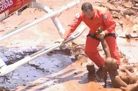 Barragem se rompeu em Brumadinho. Há vítimas