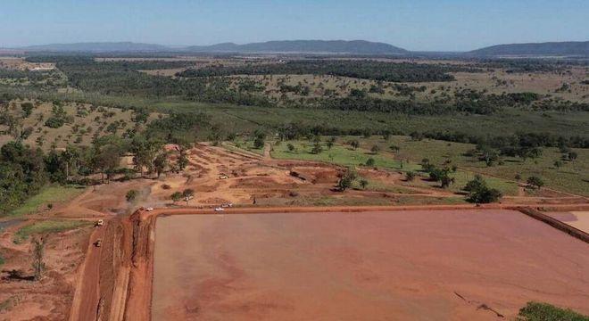 A barragem Campos,  no Mato Grosso, que foi interditada este ano