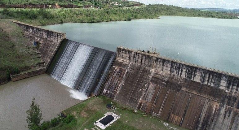 Barragem do Descoberto, reservatório de água que abastece a população do DF