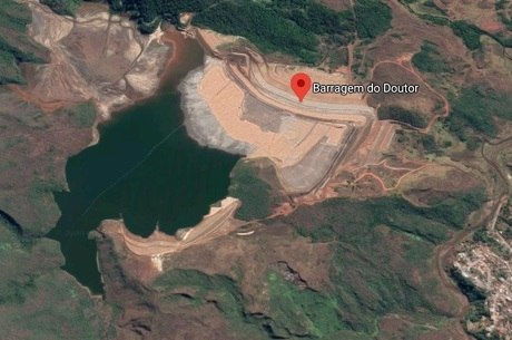 Barragem fica em Ouro Preto (MG)