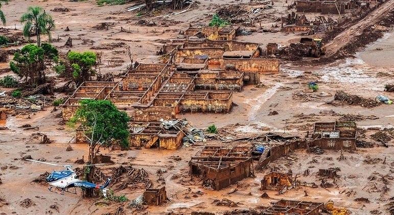 Samarco era responsável por barragem que se rompeu em Mariana, em 2015