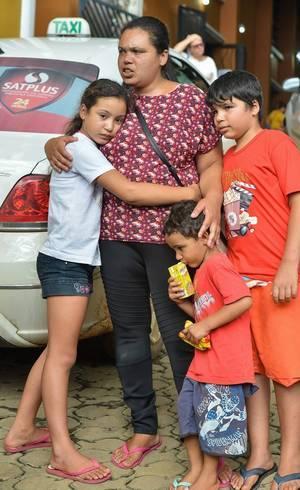 Famílias tiveram que deixar casas em Barão de Cocais (MG)