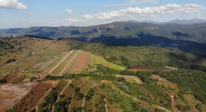 Barragem  tem mais de 6 milhões de metros cúbicos de rejeitos de mineração