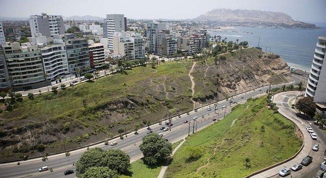 Barranco tem localização privilegiada, diante do Pacífico Bairro de Barranco