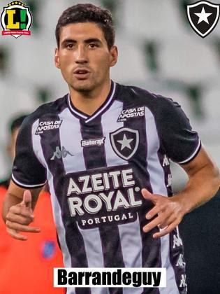 Barrandeguy - Botafogo - 24 anos - lateral-direito - uruguaio