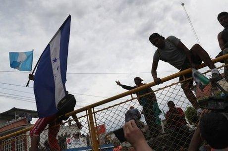 Barreira na Guatemala foi tentativa de contenção