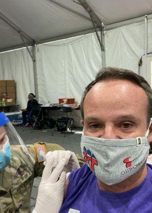 Ex-piloto de F1 foi vacinado contra a covid nos EUA