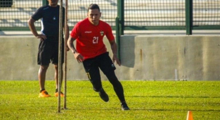 Barrios é uma das novidades da equipe