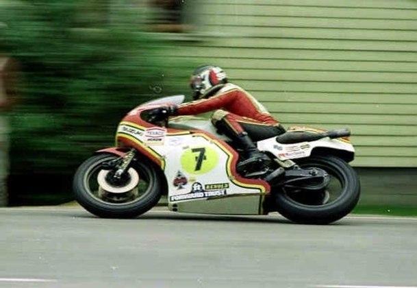 Barry Sheene venceu a corrida mais veloz da história da MotoGP, com média de 217 km/h. Foi o GP da Bélgica de 1977