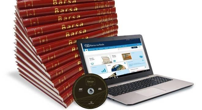 Enciclopédia Barsa em papel representa 60% do faturamento do grupo 5c2e00e28e563