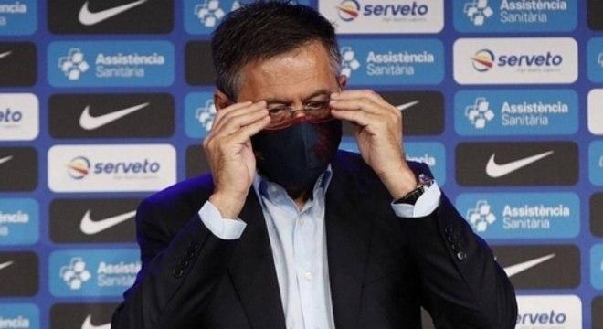 Presidente do Barcelona foi qualificado como 'uma piada' por Neymar