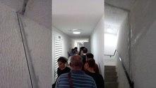 Rachaduras em prédio de Barueri causam evacuação de 200 pessoas