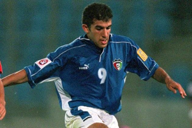 Bashar Abdullah: 75 gols em 133 jogos pela seleção do Kuwait.