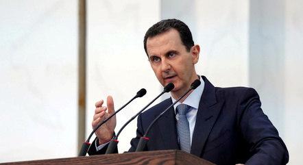 Na imagem, presidente Bashar al-Assad, da Síria