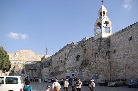 Basílica da Natividade está passando por reforma