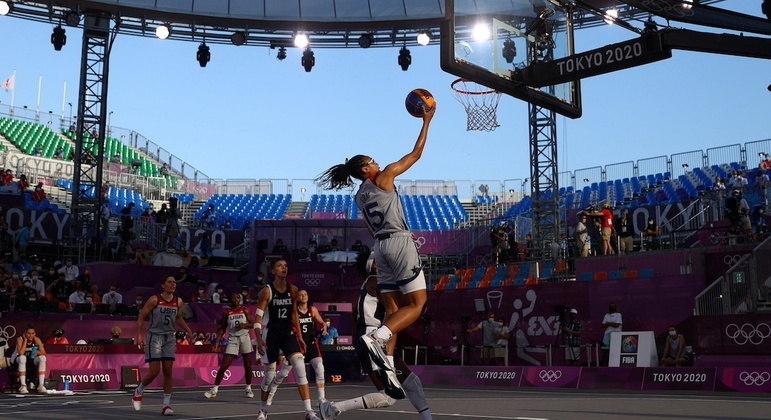 Basquete 3x3 foi uma das novidades do programa olímpico em Tóquio 2020