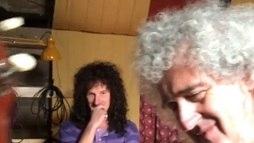 Guitarrista do Queen aparece tocando nos bastidores de _Bohemian Rhapsody_ ()