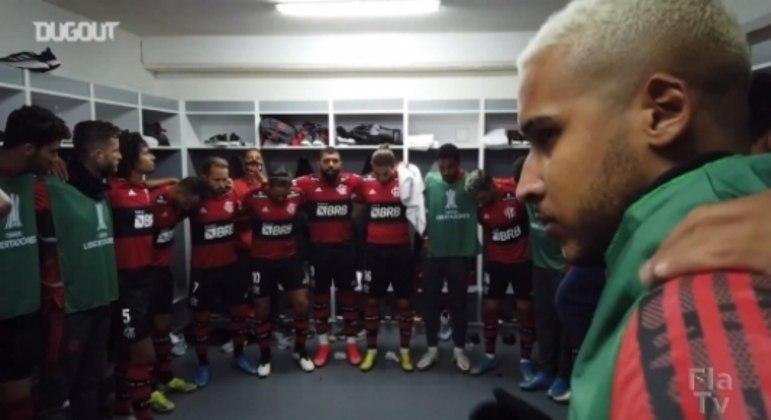 Bastidores - LDU x Flamengo