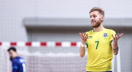 Bateria, ala da seleção brasileira de futsal