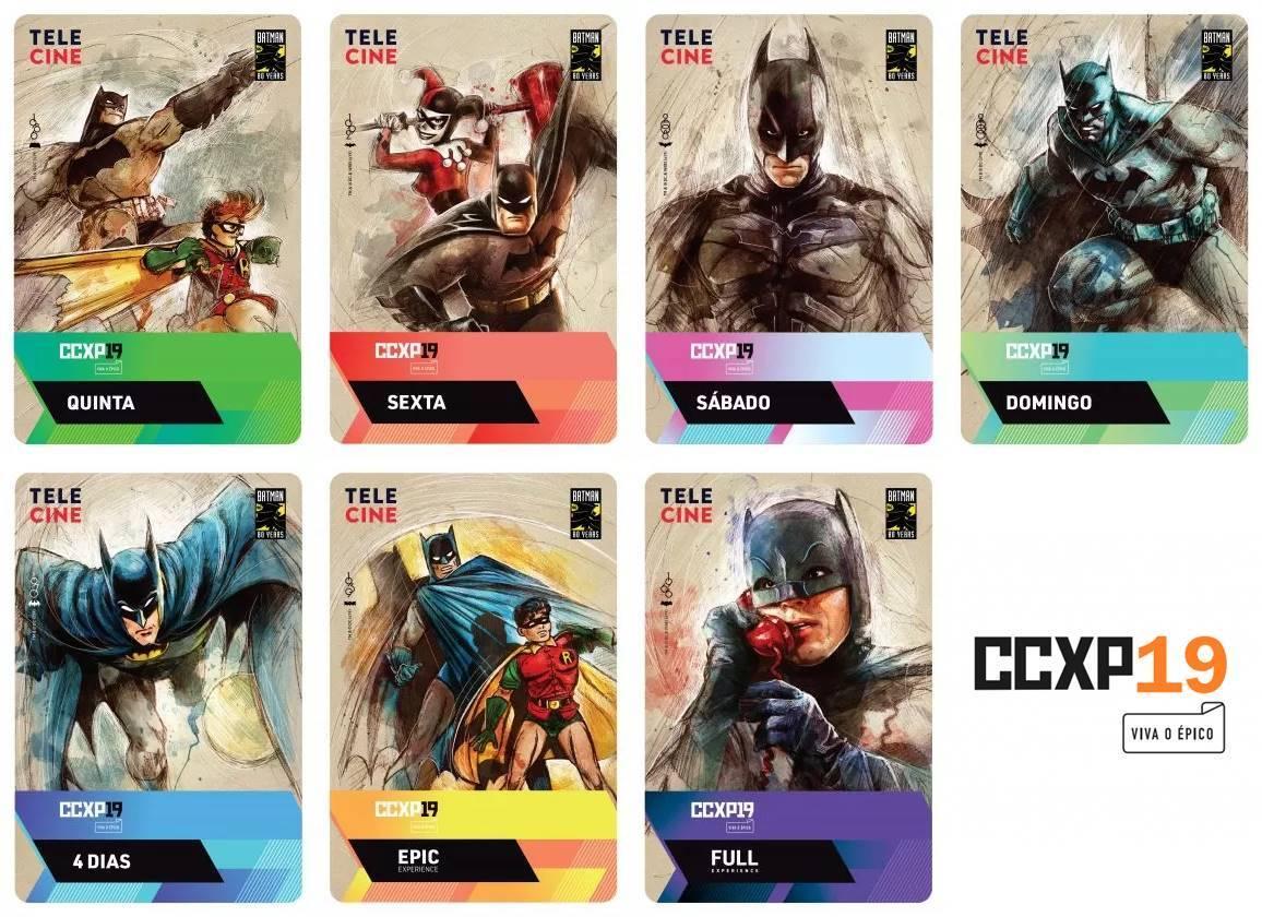 CCXP 2019 | Batman 80 anos é homenageado em credenciais do evento