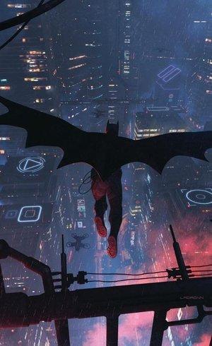 Imagem da HQ que pode ter Batman negro