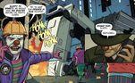 O uniforme do Batman é igualzinho ao do cinema