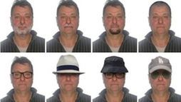 Polícia Federal divulga possíveis disfarces do italianoCesare Battisti ()