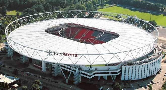 A Bay Arena, estádio do Leverkusen