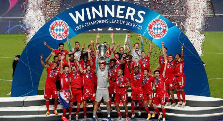 """Bayern, o mais recente ganhador da """"Champions"""""""