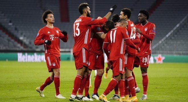 A comemoração do Bayern
