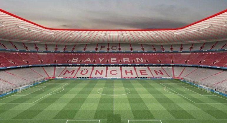 A Allianz Arena, do Bayern