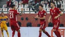 Gol irregular confirma Bayern. E superioridade europeia