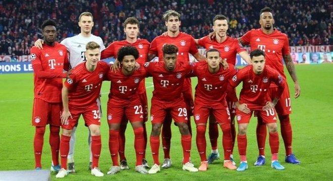 O Bayern deste dia 11, um aproveitamento de 100%