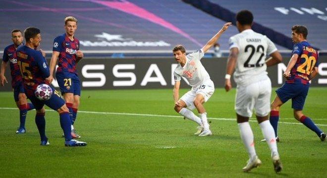 Thomas Mueller, Bayern 1 X 0
