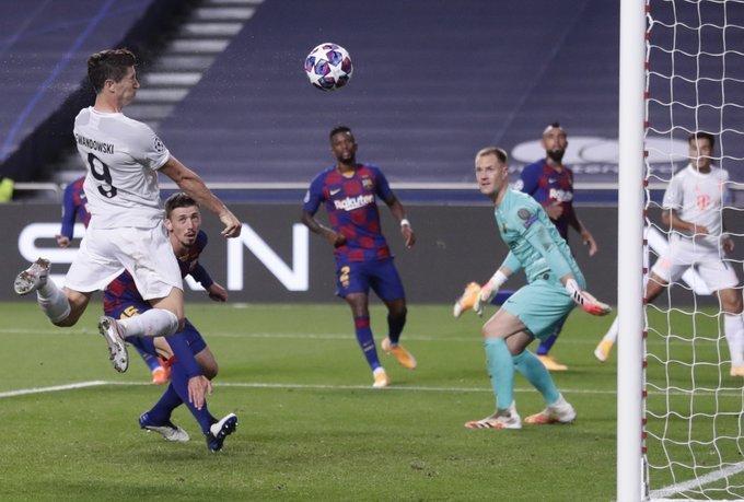 O Bayern foi impiedoso. Mostrou sua força diante do apequenado Barcelona