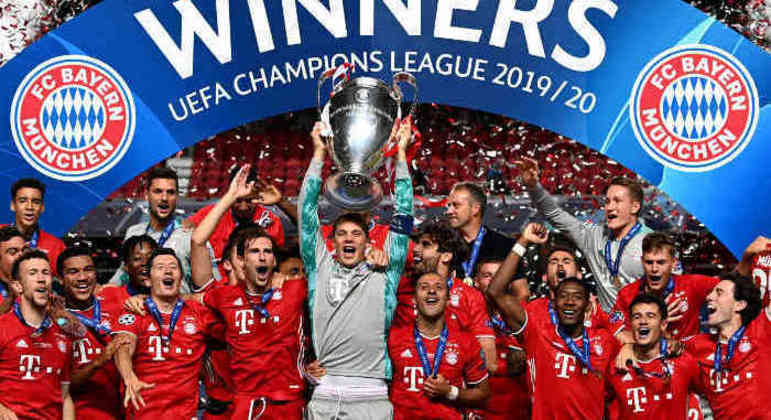 Bayern, o detentor do troféu