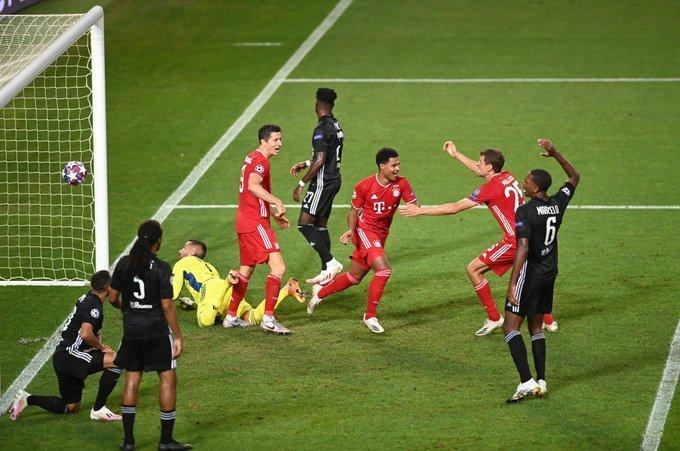 Bayern passou susto. Mas se impôs. Gnabry foi decisivo. Fez os dois primeiros