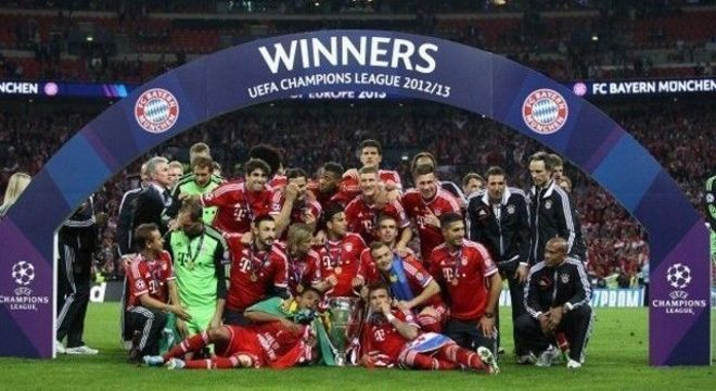 O Bayern de 2012/2013