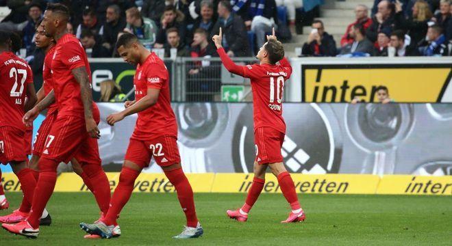 Jogadores do Bayern aceitaram redução de 20% nos seus salários