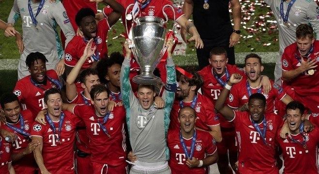 O Bayern, atual campeão