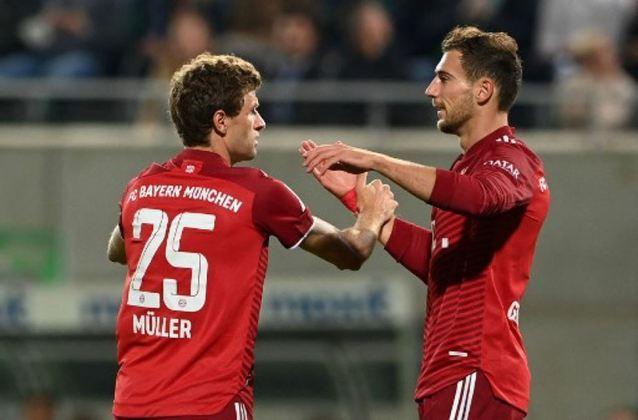 5º Bayern de Munique (Alemanha): 890 milhões de euros (R$5,64 bilhões)