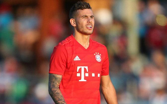 Bayern de Munique: Lucas Hernandez – R$ 501 milhões - Visando renovar o elenco, o Bayern de Munique pagou uma fortuna pelo zagueiro/lateral esquerdo, Lucas Hernandez, que um ano antes havia sido campeão mundial com a seleção francesa