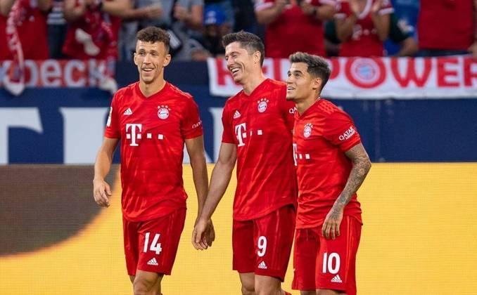 Bayern de Munique - Pontos: 55 / Jogos: 25/ Vitórias: 17/ Empates: 4 / Derrotas: 4/ Gols: 73